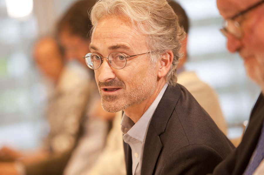 <p>Javier Errea, profesor de la Universidad de Navarra y CEO de Errea Comunicación.</p>
