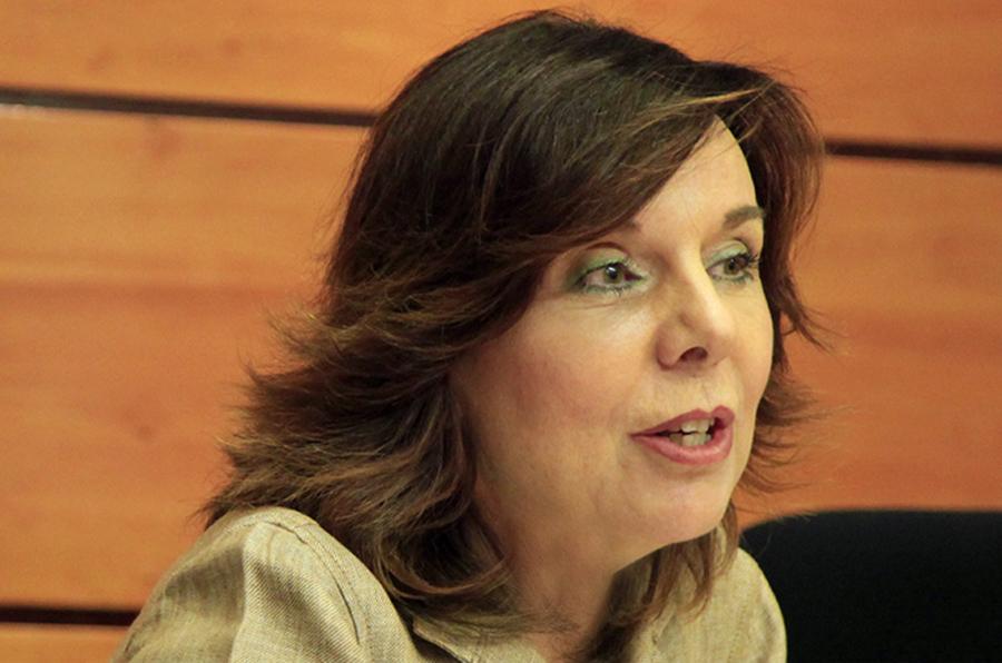 <p>Esther Arizmendi, presidenta del Consejo de Transparencia.</p>