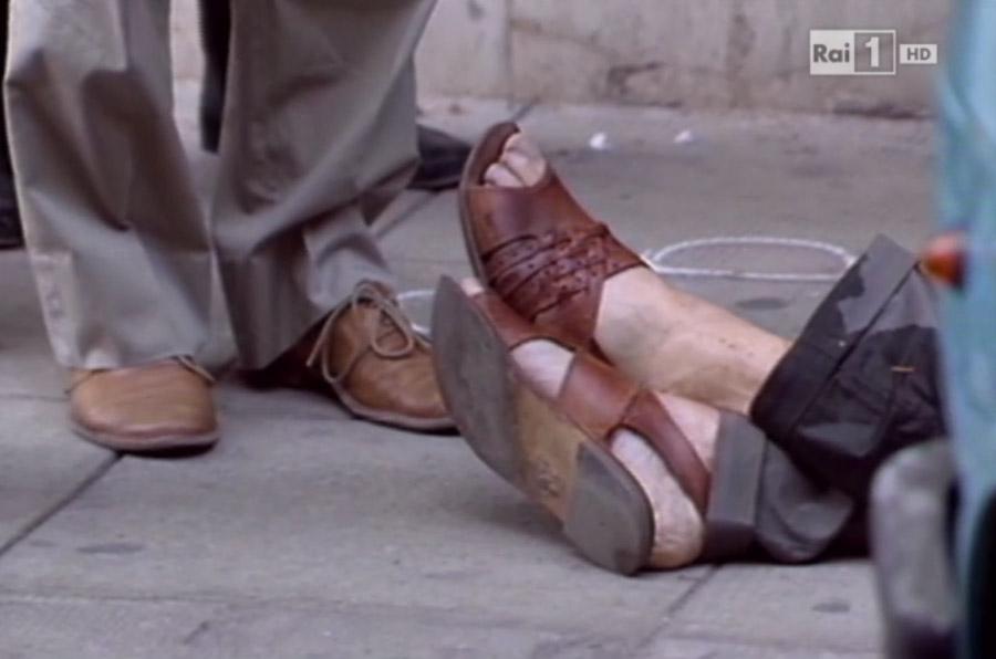 <p>Imagen de la serie documental que emitió la televisión italiana sobre la vida de Libero Grassi: 'Io sono Libero'.</p>