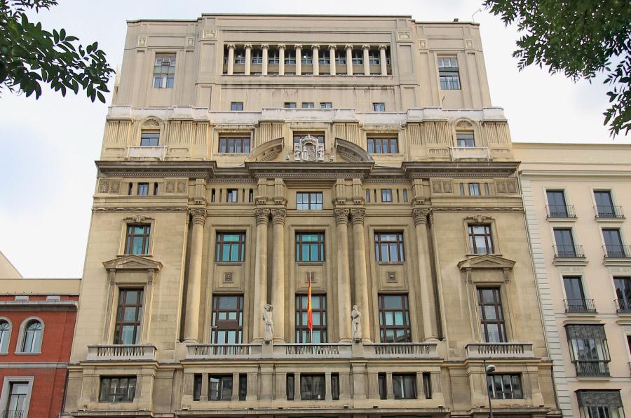 <p>La sede del Ministerio de Educación, Cultura y Deporte de España, en Madrid. Autor: Luis García.</p>