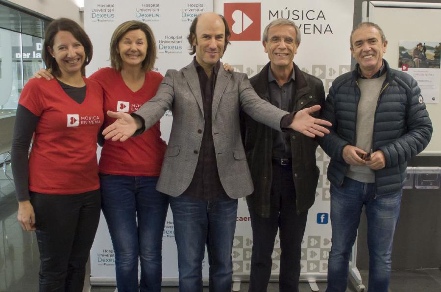 'Música en Vena' ameniza la estancia hospitalaria de los pacientes de Quirónsalud