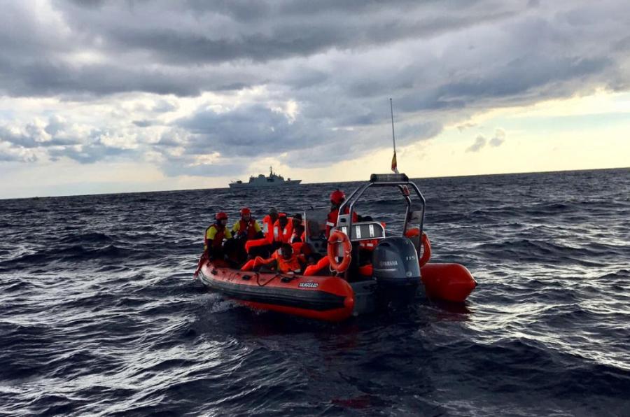 <p>El equipo de voluntarios de Proactiva Open Arms se encuentran desde hace más de un año en Grecia y en el Mediterráneo realizando labores de salvamento de refugiados.</p>