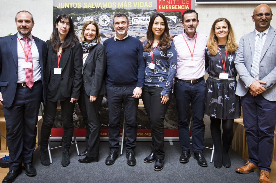 <p>Foto de familia durante la presentación del Comité de Emergencia.</p>
