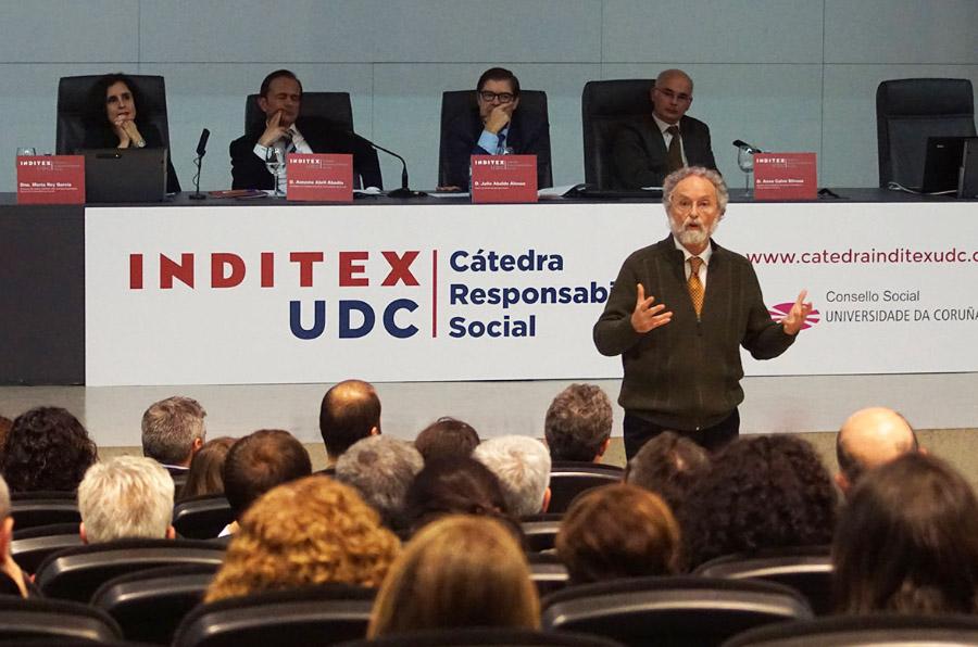 El emprendimiento social centra la apertura de la Cátedra Inditex-UDC