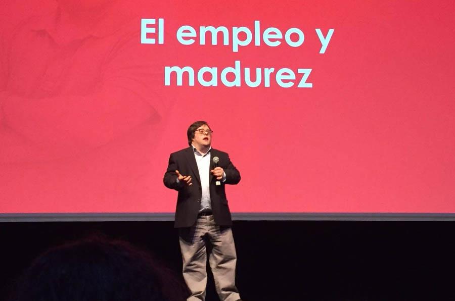 <p>El actor Pablo Pineda es uno de los rostros visibles de la Fundación Adecco.</p>