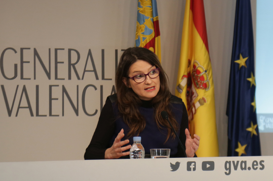 <p>Mónica Oltra, vicepresidenta y portavoz del Consell.</p>