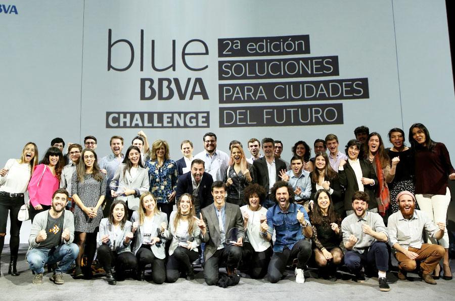 Un proyecto de orientación laboral para universitarios gana el concurso 'Blue BBVA Challenge'