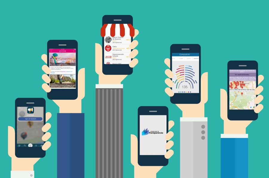 Las 10 mejores apps para impulsar la transparencia y el gobierno abierto