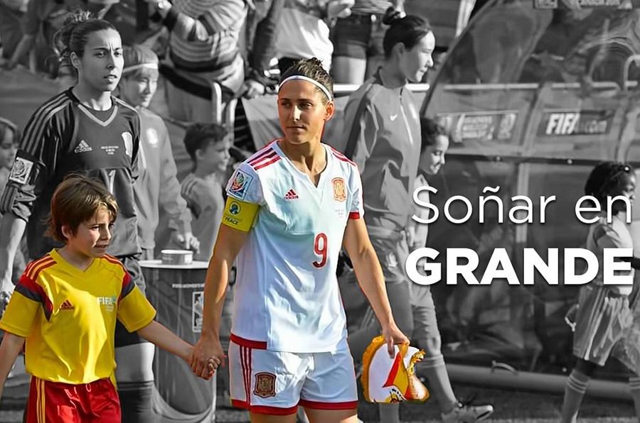"""<p>""""Todavía hay mucho por hacer, pero estamos poniendo una buena base. Estoy convencida de que el futuro del fútbol femenino español será buenísimo"""", Vero Boquete</p>"""