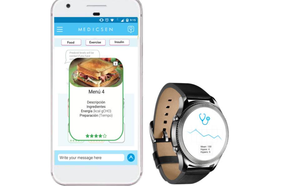 <p> MedicSen, app para diabéticos que permite predecir las variaciones de su curva glucémica de forma personalizada. </p>
