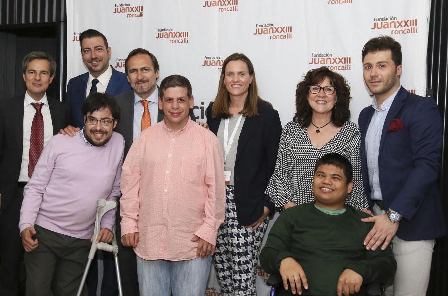 Cerca de 40 empresas defienden la inclusión laboral de las personas con discapacidad