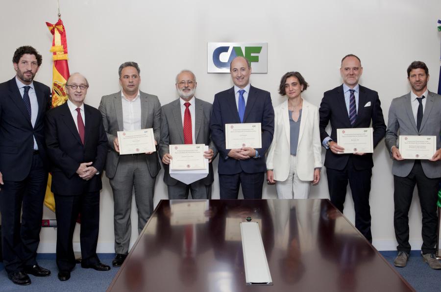 CAF y CE premian los proyectos españoles más innovadores de 2016