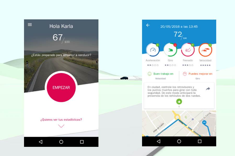 AXA crea una app que analiza los hábitos de conducción para mejorar la seguridad vial