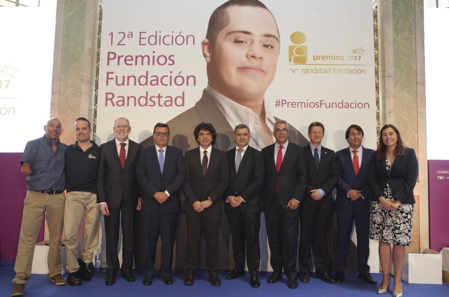 Fundación Randstad premia el trabajo por la integración laboral de cuatro entidades