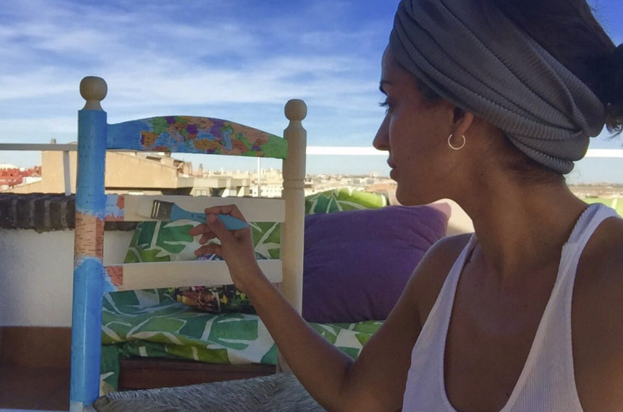 <p>Inma Cuesta, actriz e impulsora de la iniciativa solidaria #Tusillasurefugio.</p>