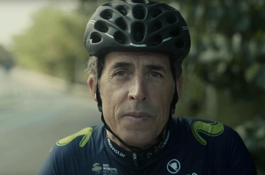 Movistar promueve el respeto entre ciclistas y conductores en la carretera
