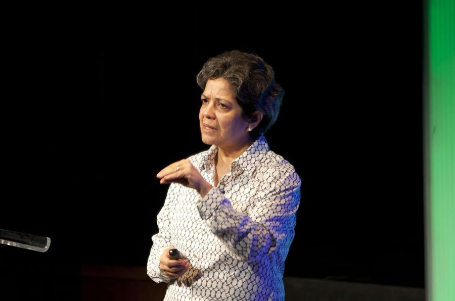 <p>Mireya Vargas, directora de Foco Sustentable y Centro Lyra. Foto: Juanma Miranda</p>