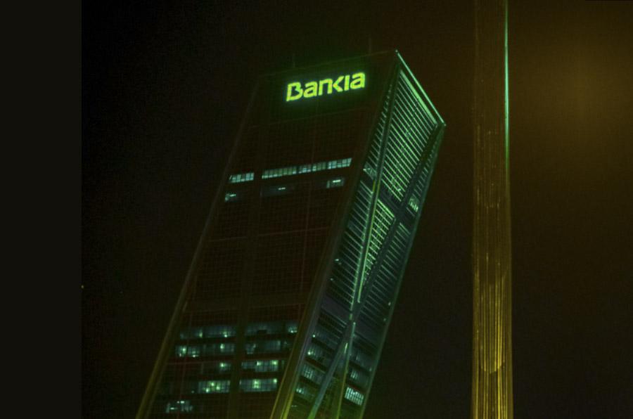 <p>Torre Bankia (Plaza Castilla).</p>