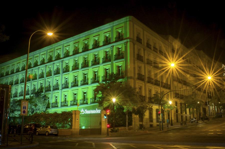 <p>Sede de Banco Santander (Pº de la Castellana).</p>