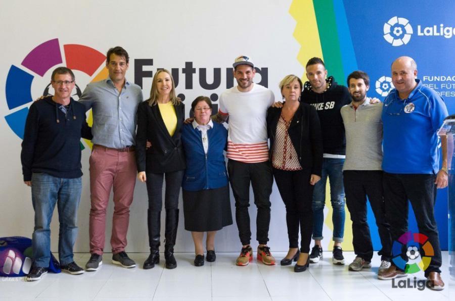 <p>El Athletic Club se sumó en mayo de 2016 al proyecto 'Futura Afición', organizado por la Fundación de LaLiga.</p>