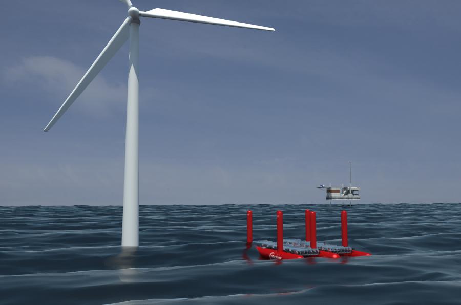 <p>Arrecife Energy Systems captura el movimiento de las olas para generar electricidad.</p>