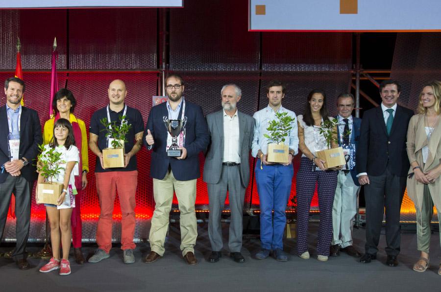 <p>Los ganadores de la cuarta edición de South Summit.</p>