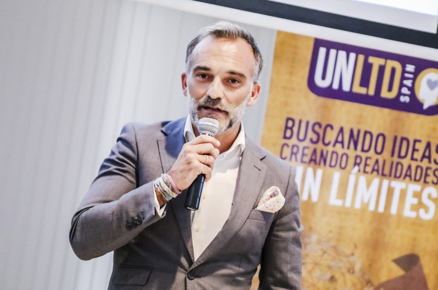 <p>Ángel Bonet, cofundador de UnLtd Spain.</p>