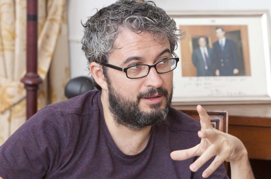 <p>David Cabo, patrono fundador y director de Civio.</p>