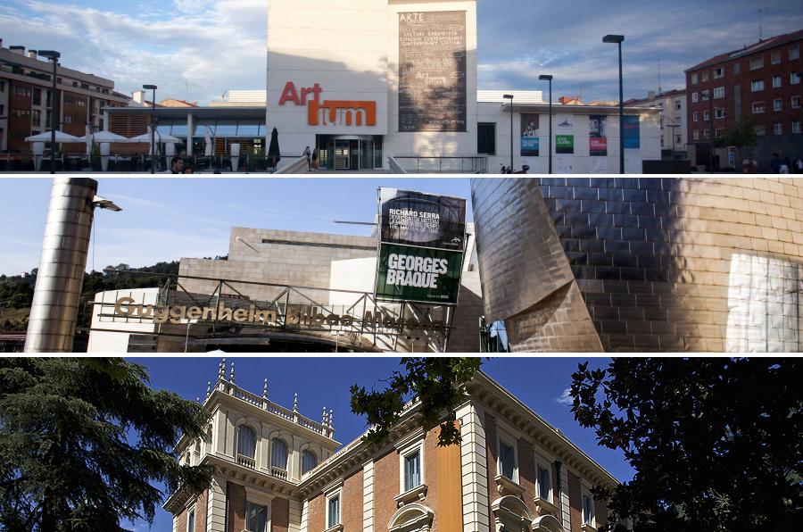 Los museos Artium, Guggenheim Bilbao y Lázaro Galdiano, los más transparentes