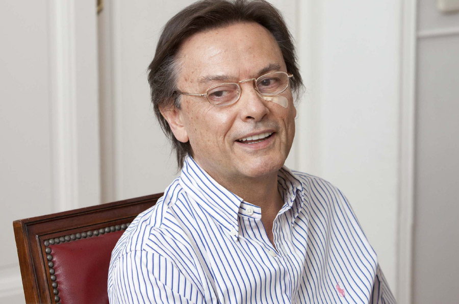 <p>Jesús Lizcano, presidente en España de Transparencia Internacional.</p>