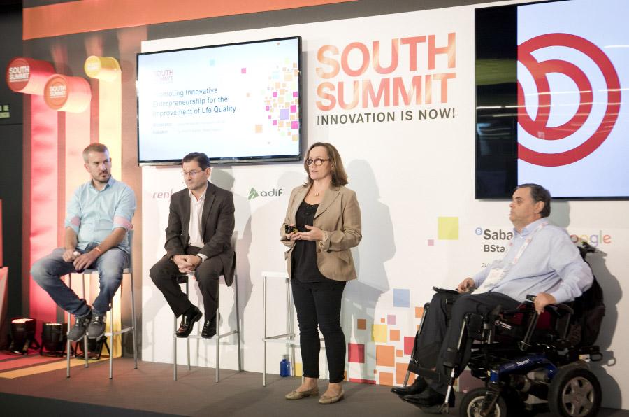 Once lleva el emprendimiento de personas con discapacidad al South Summit