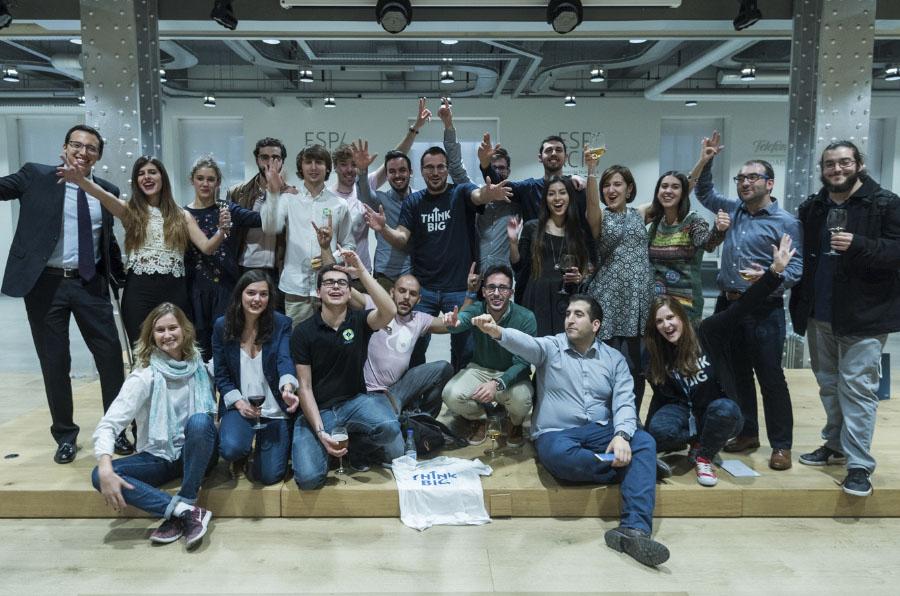 Los jóvenes de 'Think Big' presentan sus emprendimientos de salud y sostenibilidad