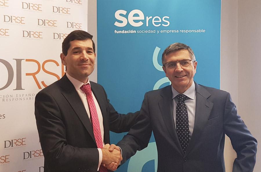 Fundación Seres y DIRSE firman un acuerdo para fortalecer la responsabilidad social