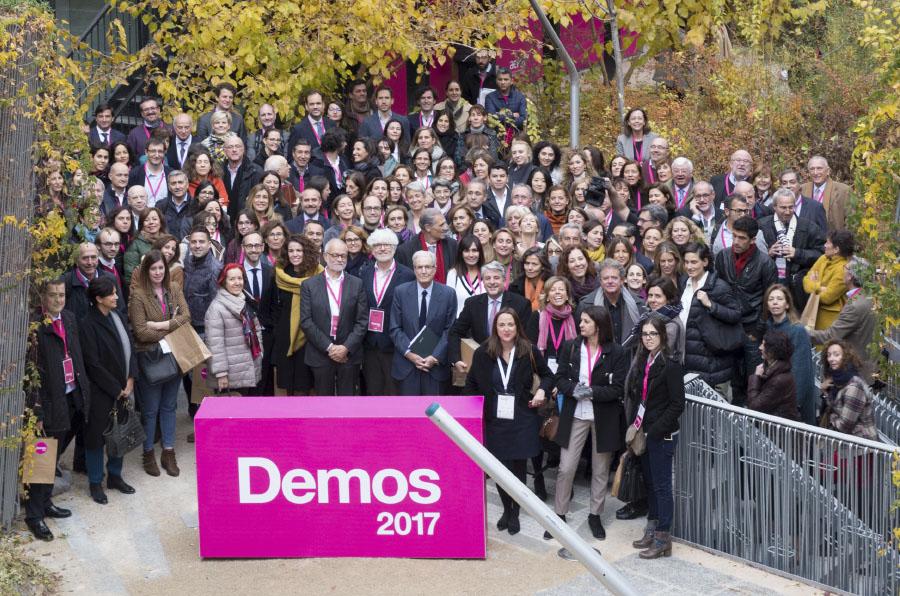 Más de 400 profesionales de la sociedad civil se reúnen en el primer foro Demos
