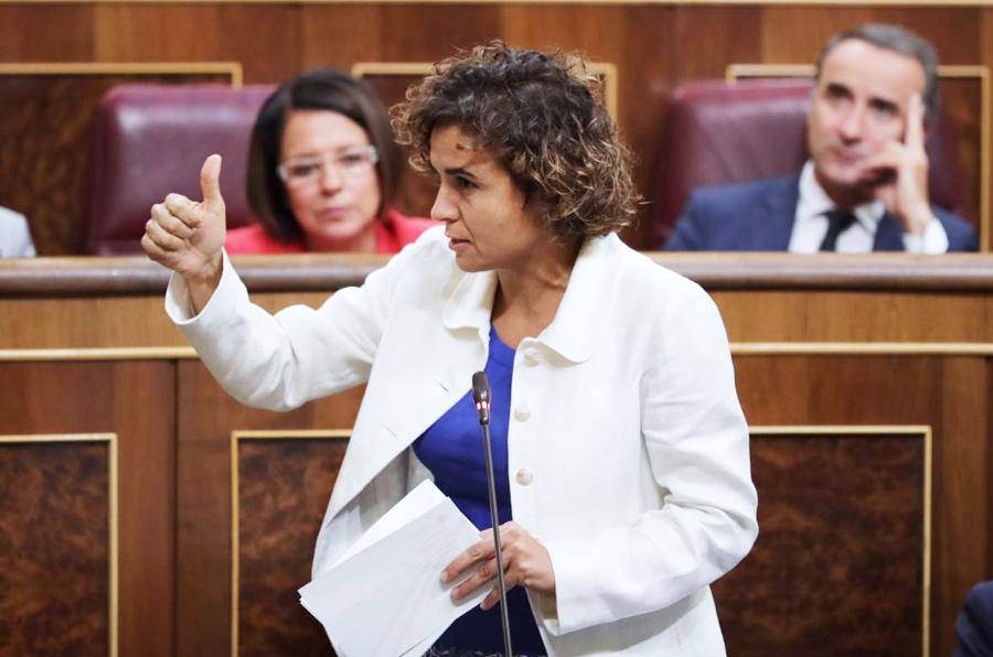 <p>Imagen de archivo: Dolors Montserrat, ministra de Sanidad, Servicios Sociales e Igualdad.</p>