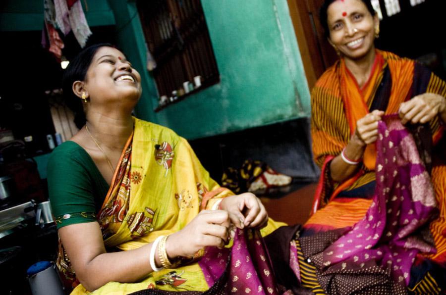 <p>Proyecto 'Oportunidades para mujeres artesanas', de Intermon Oxfam, beneficiaria de las donaciones de los clientes de Triodos Bank.</p>