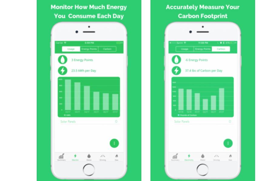 <p>Carbon Tracker calcula la huella de carbono de cada persona y le ofrece consejos para reducirla.</p>