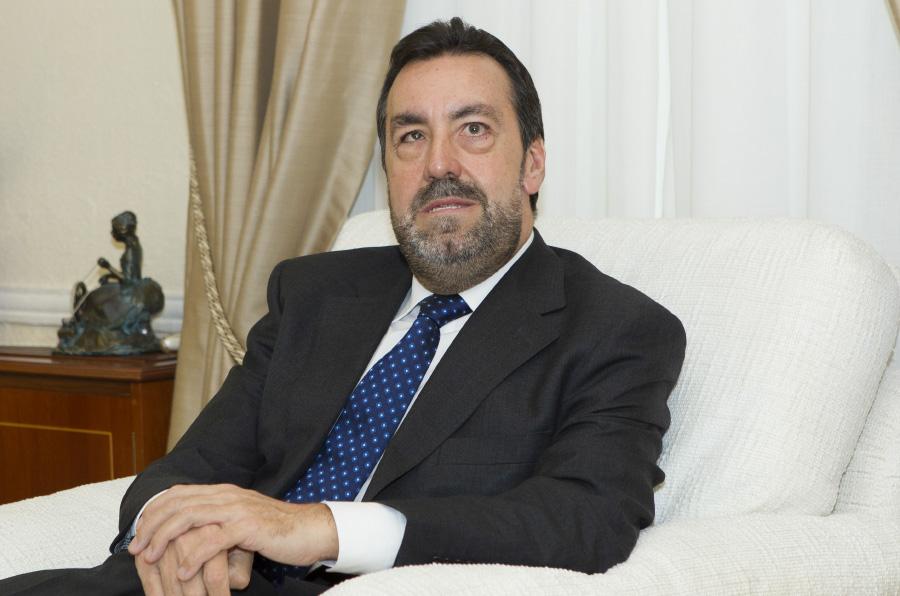 <p>Miguel Carballeda, presidente del Comité Paralímpico Español.</p>