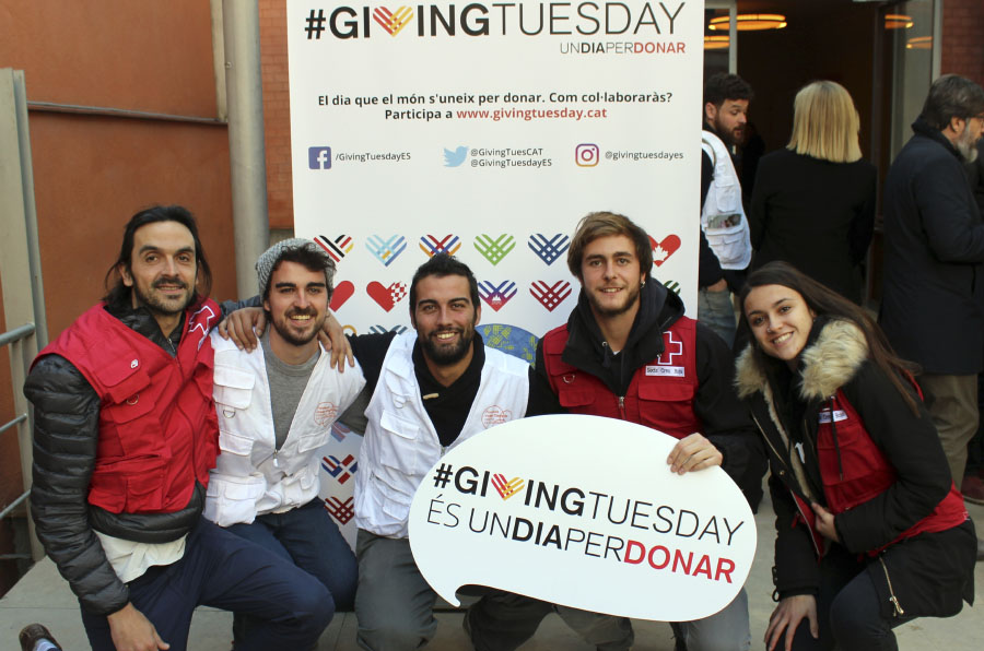 #GivingTuesday recauda más de 600.000 euros en su tercera edición en España
