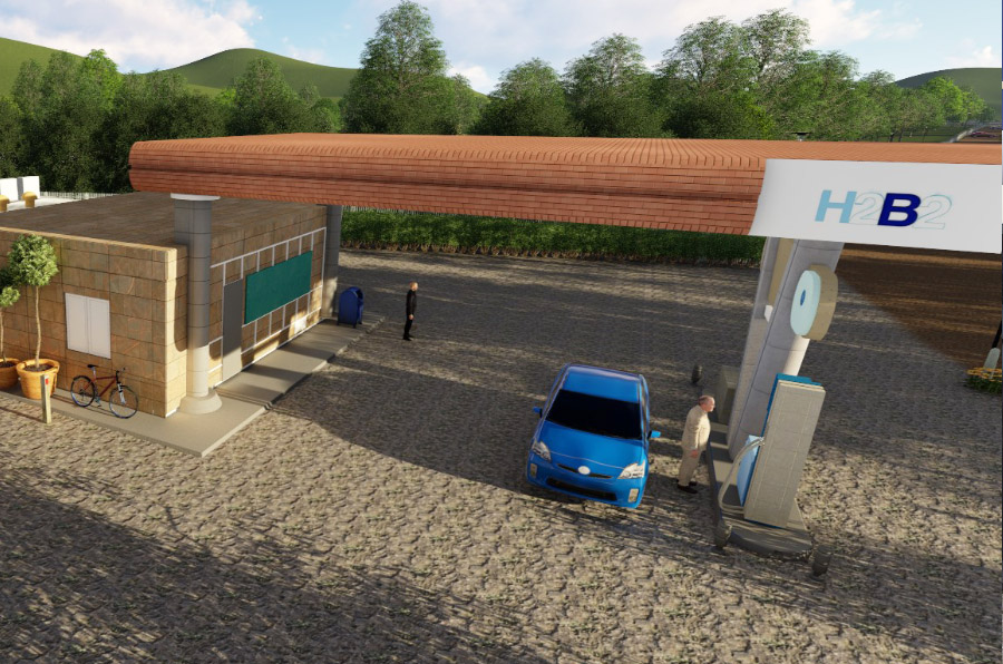 El (lento) avance del hidrógeno como combustible alternativo