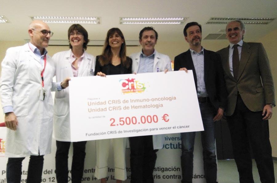 Cris Contra el Cáncer financia la primera Unidad integral de Inmuno-Oncología