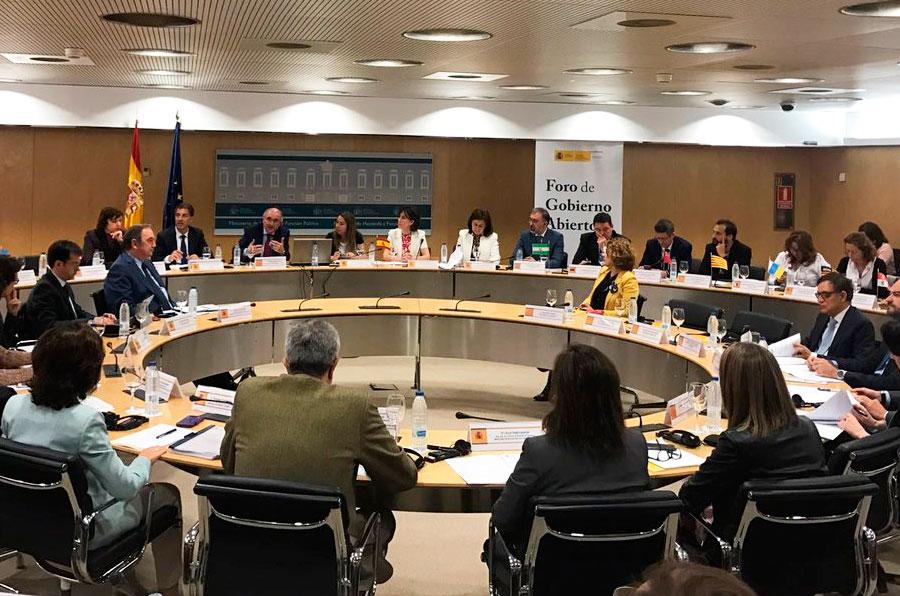Diálogo y colaboración en la I Semana de la Administración Abierta