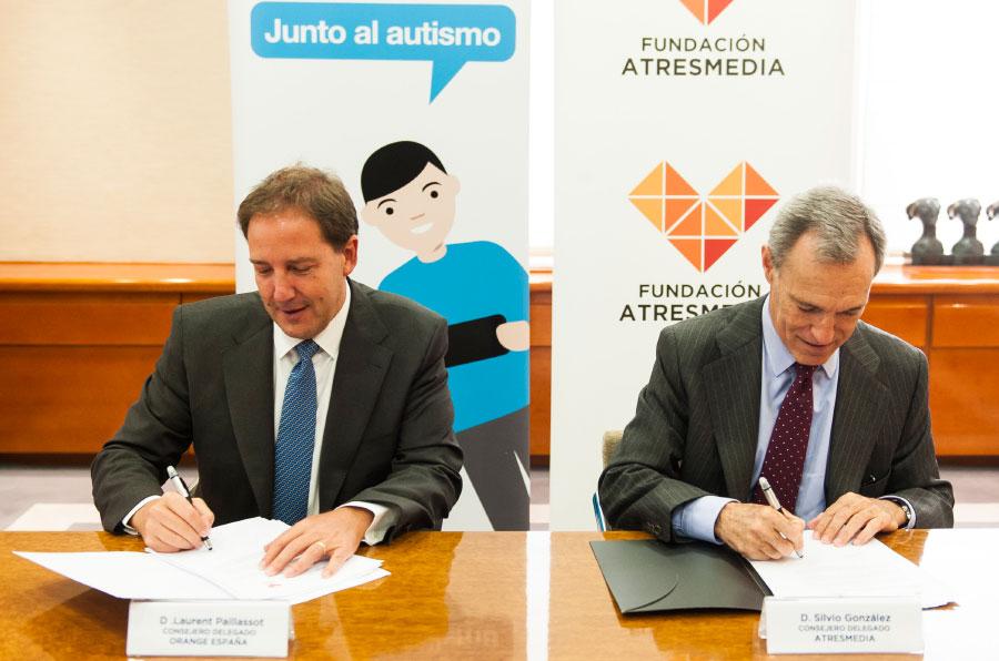 Orange y Atresmedia, juntas por la inclusión de las personas con autismo