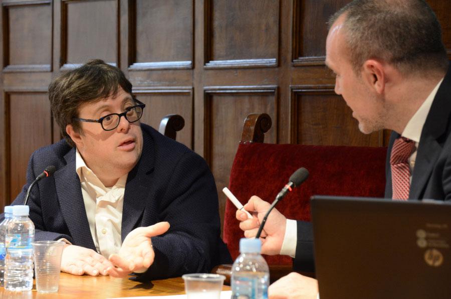 """Pablo Pineda: """"Hay que normalizar a las personas con Síndrome de Down en la universidad"""""""