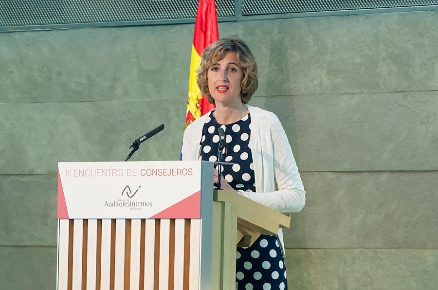 <p>Ana María Martínez-Pina, vicepresidenta de la CNMV.</p>