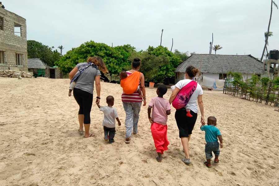Unas vacaciones programadas para ayudar