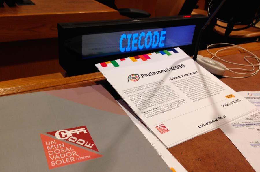 Nace Parlamento 2030 para monitorizar los avances del Congreso en los ODS