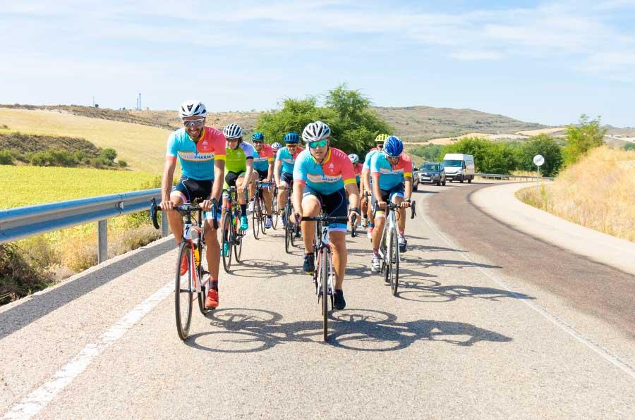 Chema Martínez recorre 800 km en bicicleta para visibilizar la enfermedad de Chagas