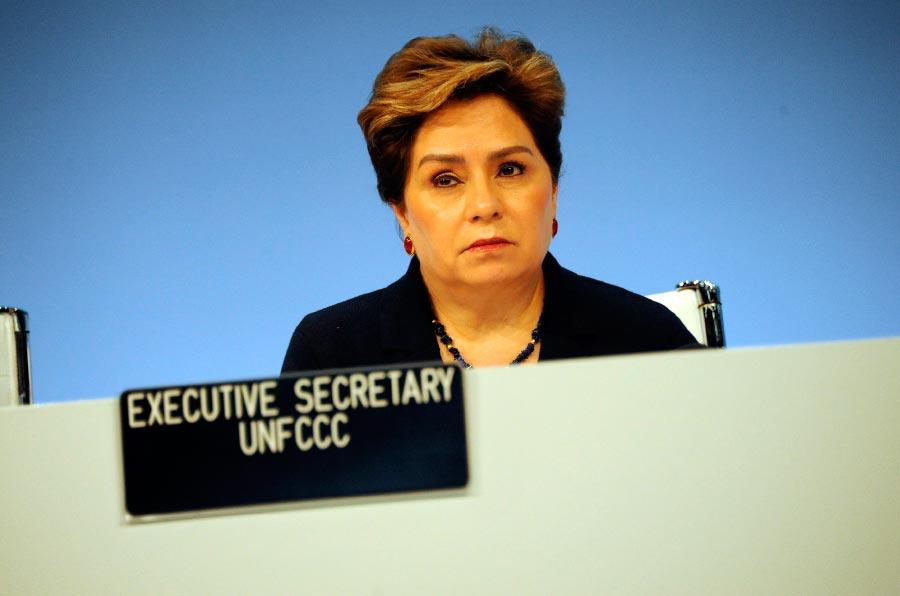 <p>Patricia Espinosa, Secretaria Ejecutiva de Cambio Climático de la ONU. Foto: CMNUCC.</p>