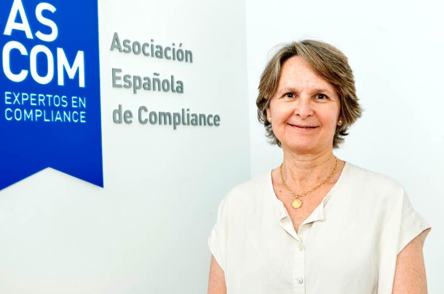 <p>Sylvia Enseñat, presidenta de la Asociación Española de Compliance (Ascom). </p>